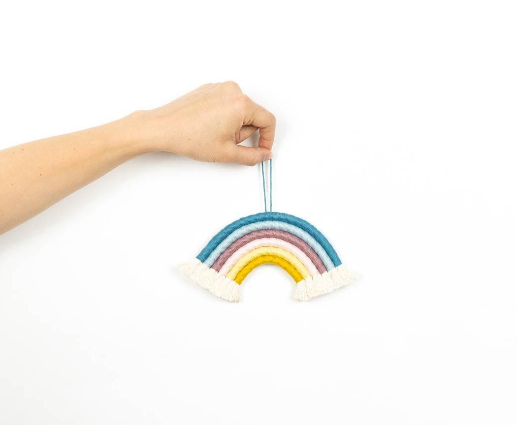 Unser Makramee Regenbogen